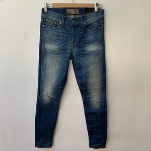 J Crew Point Sur Denim - Epic Skinny Mid Rise S 27